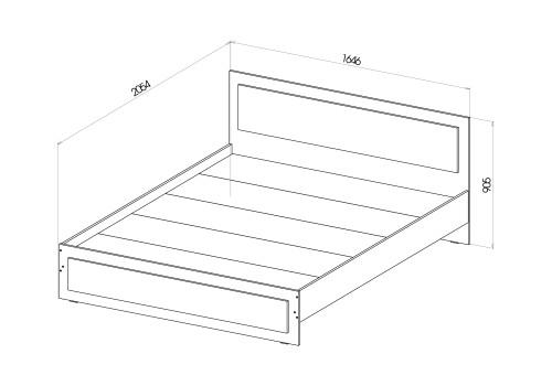 Кровать Anita (Анита)